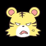 怒るブシトラ